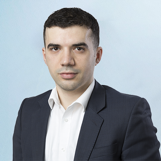 David Hoxha, a Corporate Governance Executive at QCF.